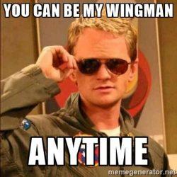 Γίνε καλός Wingman